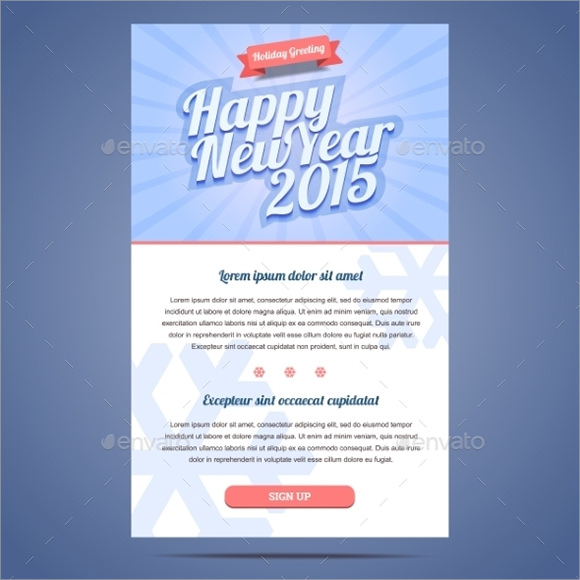 Sample New Year Email Templates 11 Documents In Pdf Psd Vector