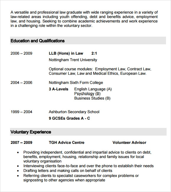 free 9  sample student cv templates in pdf
