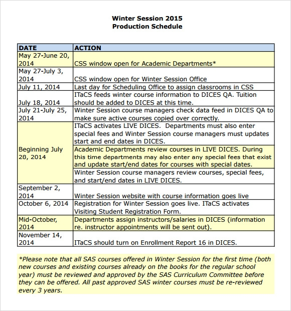 production schedule pdf1