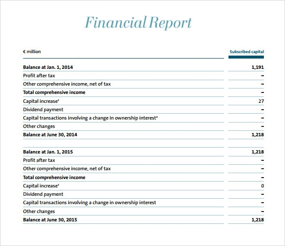 sample financial reports - Besik.eighty3.co