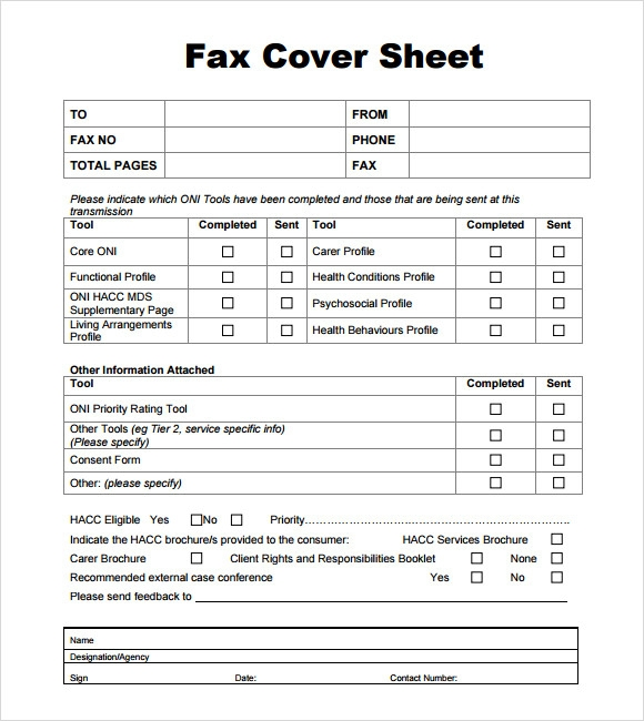confidential fax cover sheet 7 download documents in