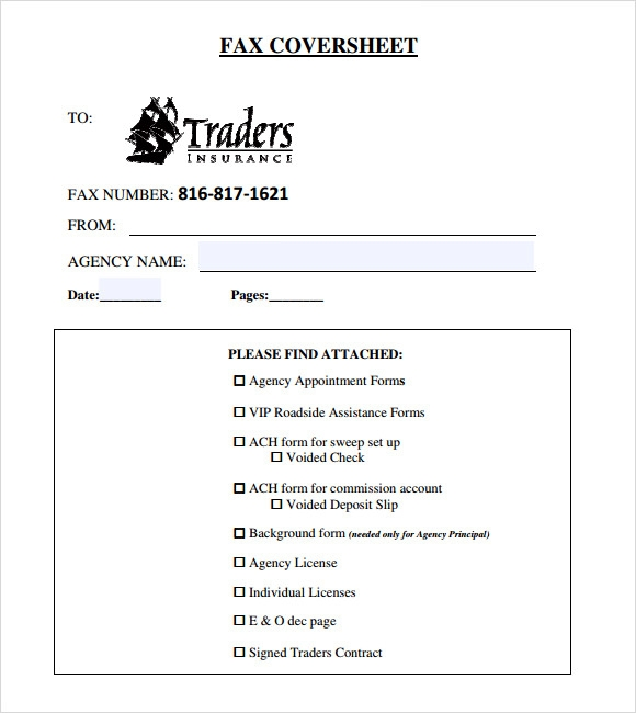 Basic Fax Cover Sheet - 7 Download Documents in PDF | Sample Templates