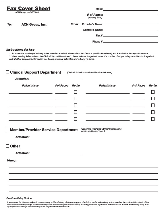 6  sample fax cover sheet for resumes