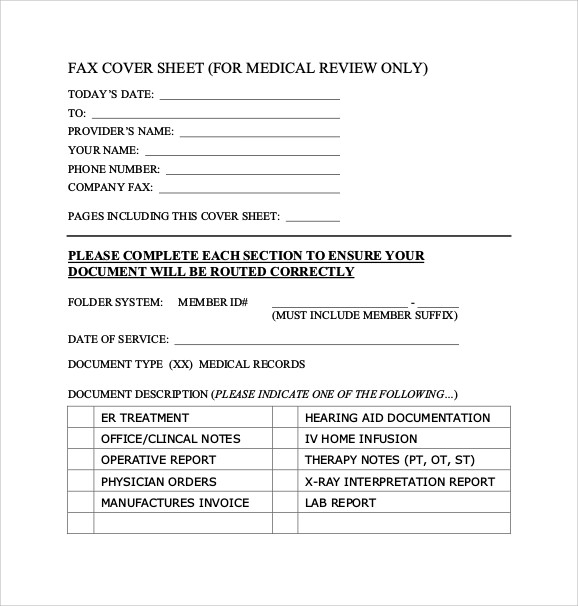 blank fax cover sheet template .
