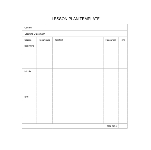 Fillable Printable SBA Blank Business Plan Form