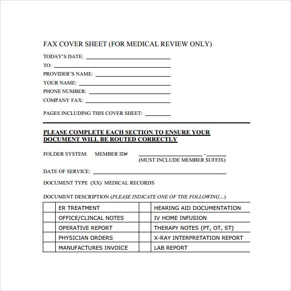 sample cute fax cover sheet template