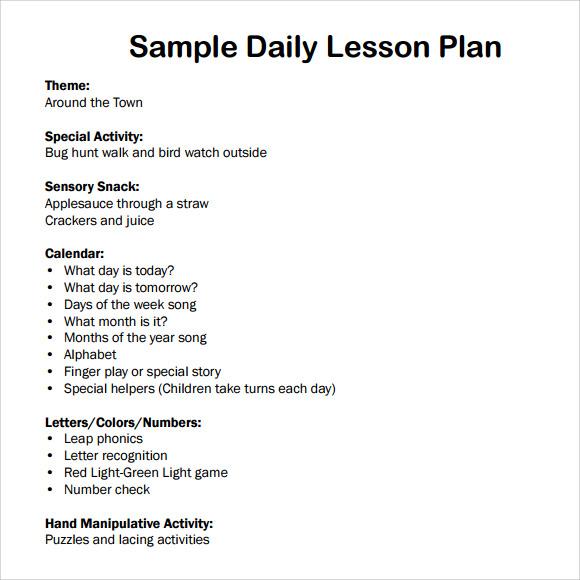 preschool design and planning guidelines