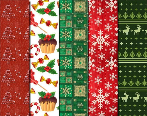 beautiful christmas papers