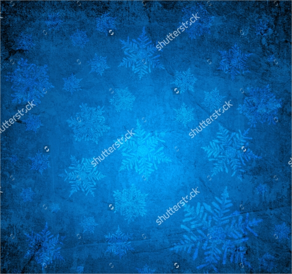 blue christmas papers