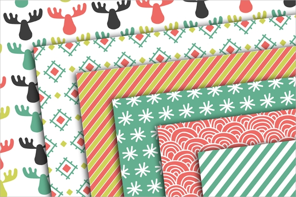 collection of christmas papers