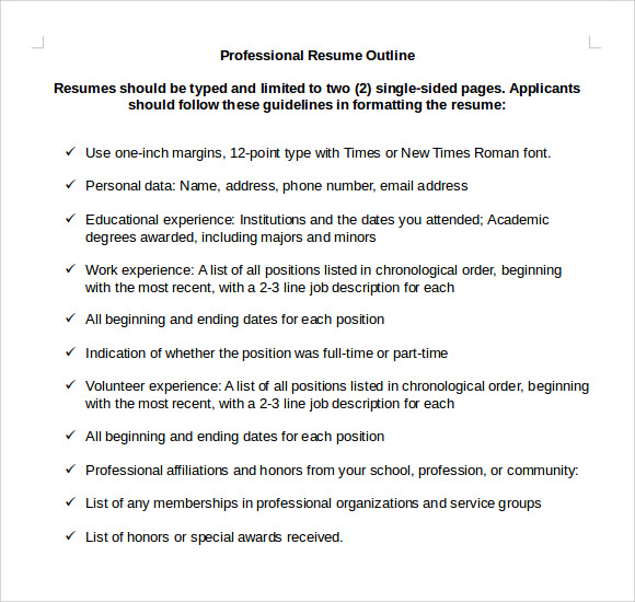 Awesome Employer Preferred Resume Format Professional Resume Font Professional  Resume Font