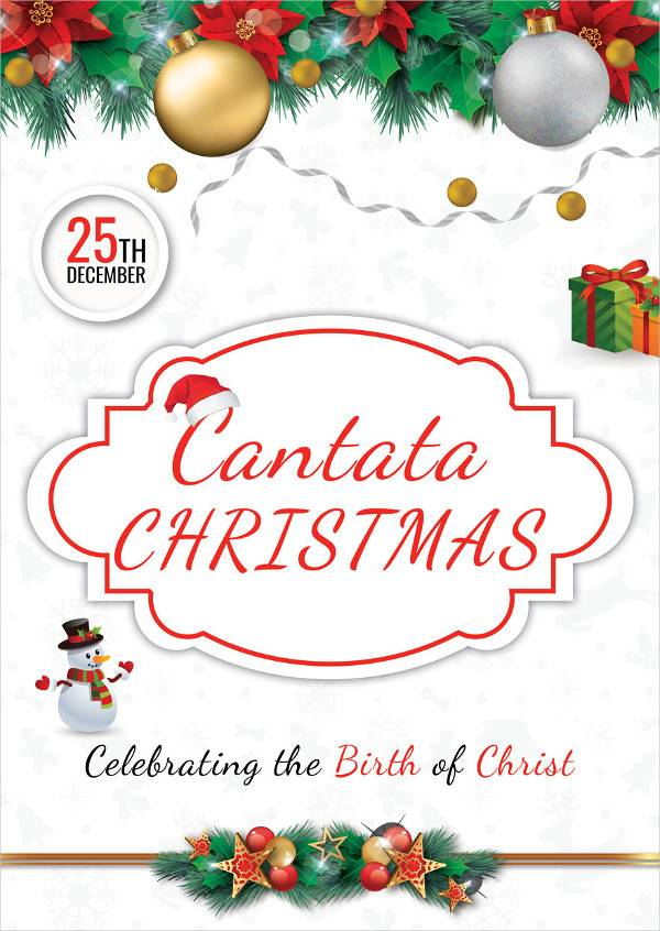 cantata christmas poster