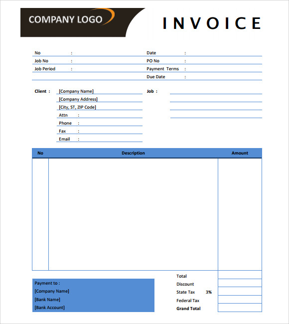 microsoft invoice template 14 download free documents in word excel. Black Bedroom Furniture Sets. Home Design Ideas