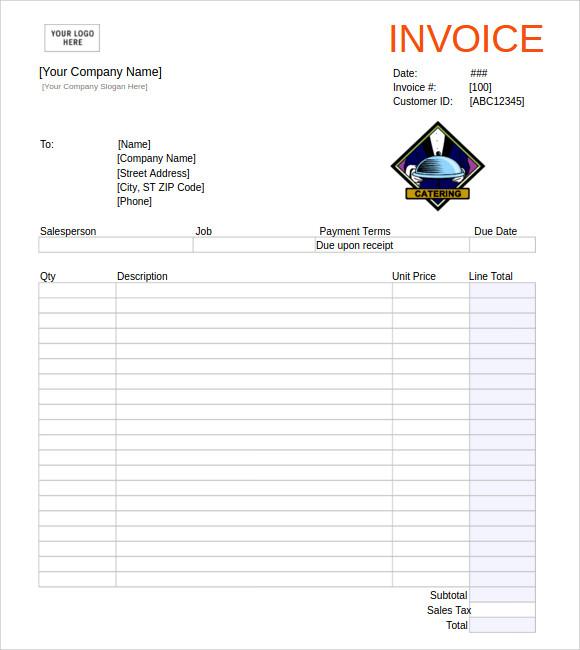 ms excel invoice templates