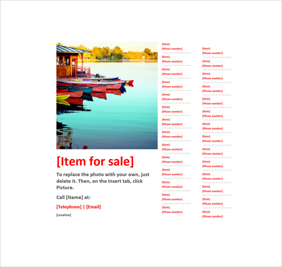 12+ Microsoft Flyer Templates - Download Free Documents In Word