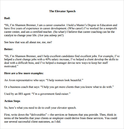 Speech Examples 23 Download Free Documents in PDF Word – Ceremonial Speech Example Template