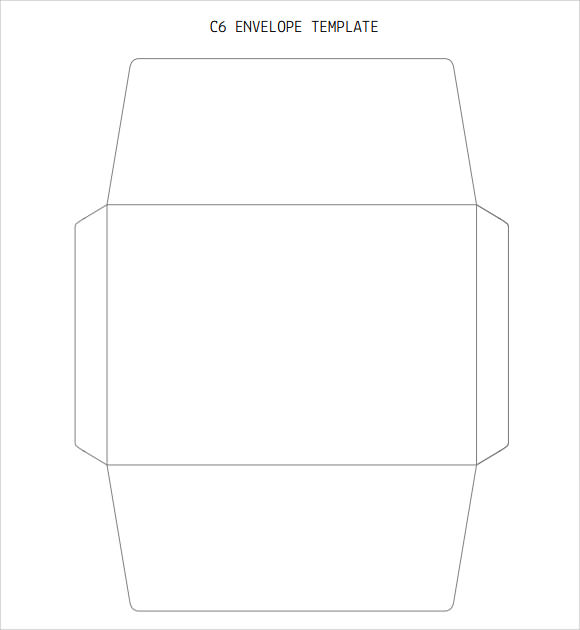 free envelope templates - Free Envelope Template