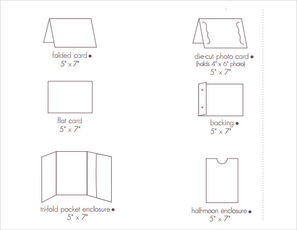 5x7 Envelope Template Pdf