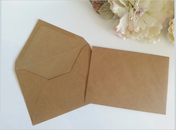 Amazing Envelope Templates To Download Sample Templates - 5x7 envelope template word