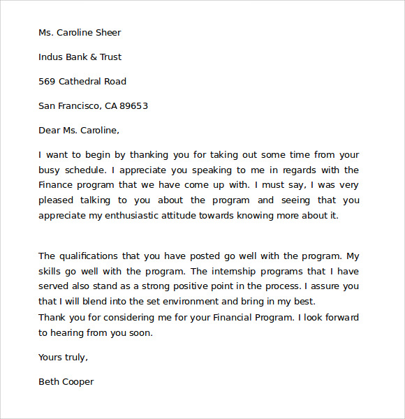 Professional Business Letter - 8+ Download Free Documents in Word