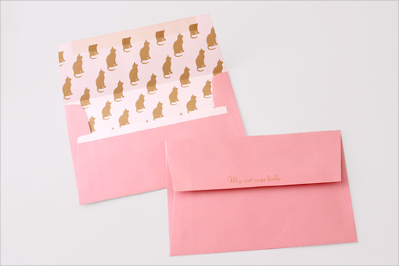 Envelope Liner Template | Out-Of-Darkness