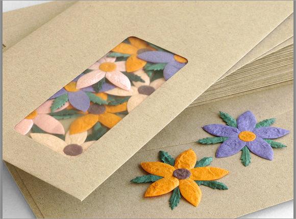 brown kraft business envelopes