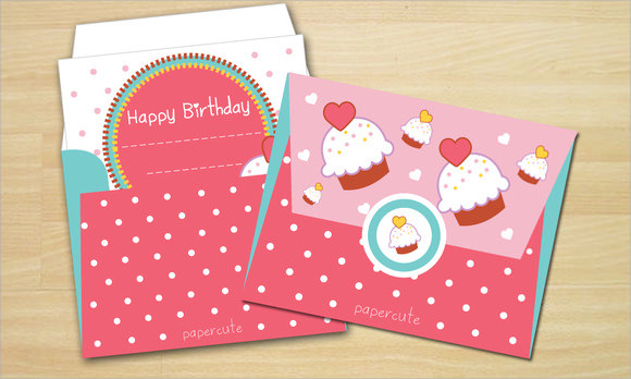 birthday gift card envelope template