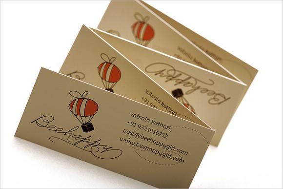 beehappy giftcard envelope