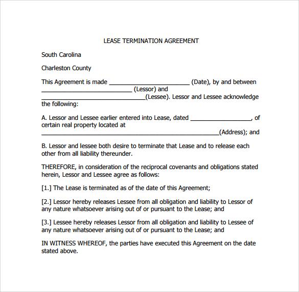lease termination agreement pdf%ef%bb%bf