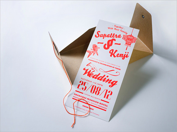 Sample Wedding Card Envelope Template - 14+ Documents in PSD , PDF ...