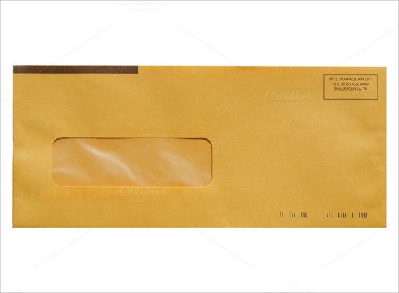 Letter Envelope To From Format