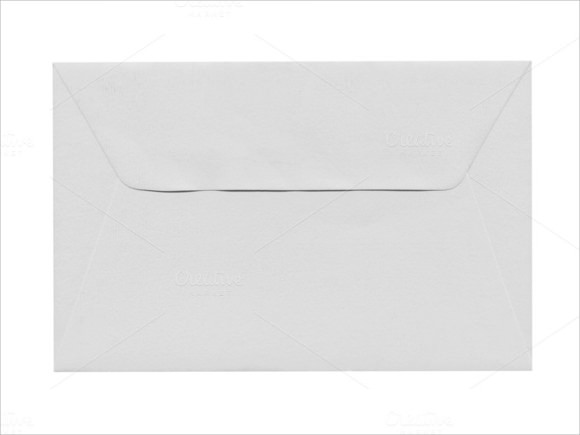 letter envelope format template