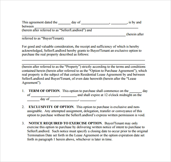 Sample Basic Lease Agreement   Documents In Pdf