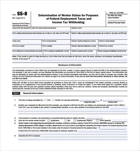 Sample IRS Complaint Form 6 Free Documents In PDF – Irs Complaint Form