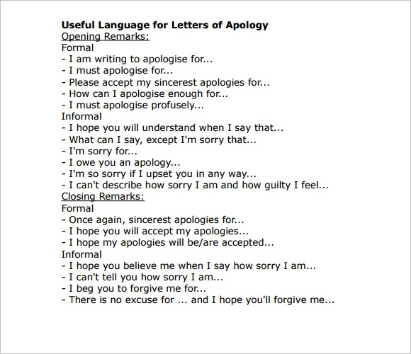 apology letter to boyfriend apology letter apology letter offer acceptance 37965