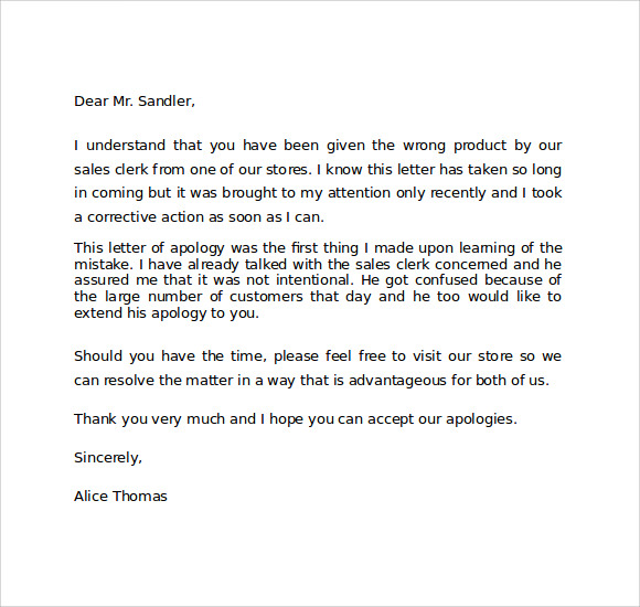Apology letter disappointed customer 28 images awesome template 33 sles exles formats apology letter disappointed customer how to write an apology letter for bad customer service cover letter spiritdancerdesigns
