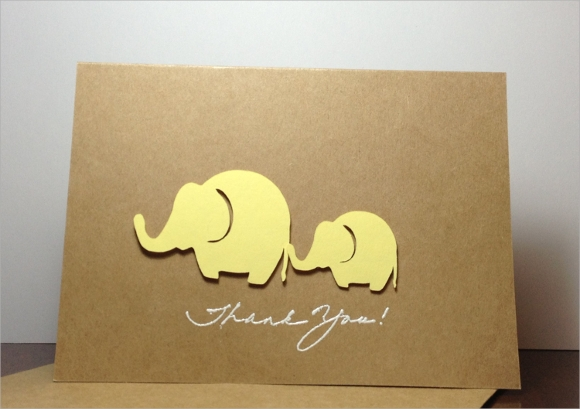 thank you note for baby shower host