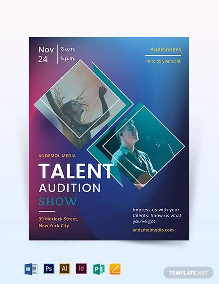 talent audition