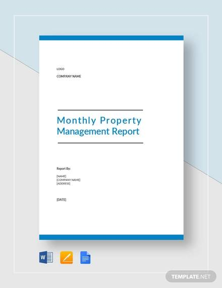 montly property management