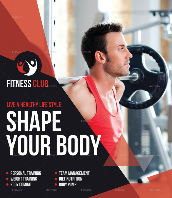 Fitness Flyers  Psd Vector Eps