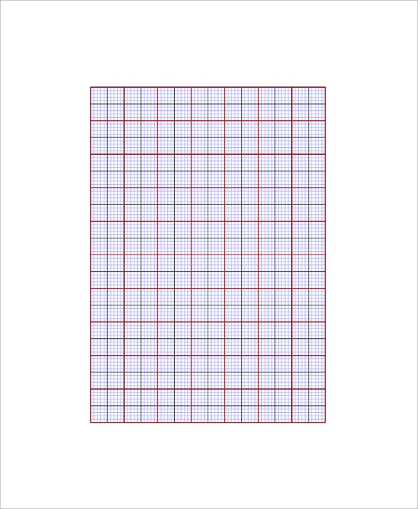 Sample Excel Graph Paper Template   Free Documents Download In