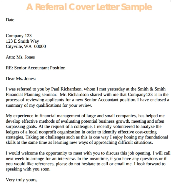 Application Cover Letter - 10+ Free Samples, Examples & Format