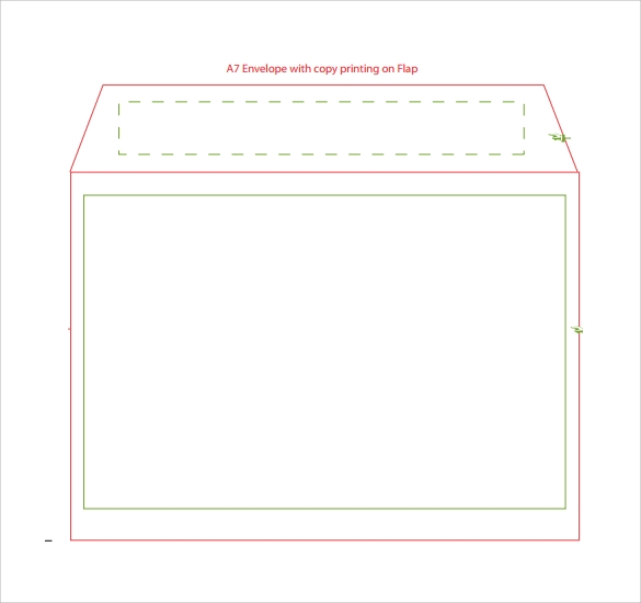 9 sample a7 envelopes sample templates for A7 envelope template word