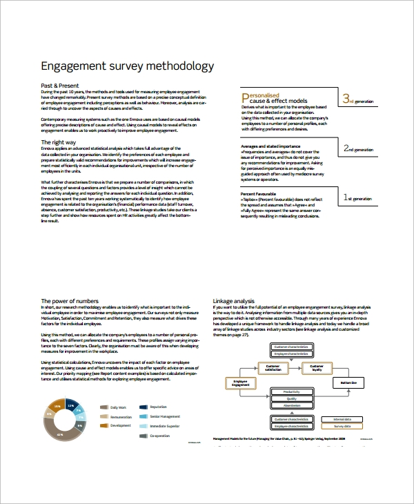 large scale business employee engagement survey