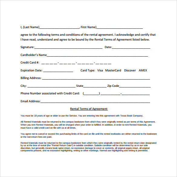 free download pdf generic rental agreement