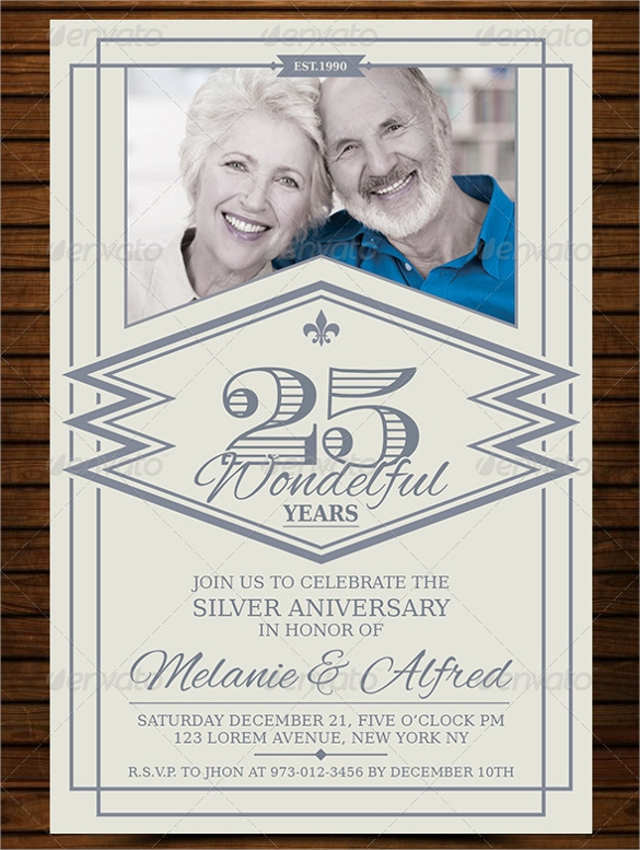 17 Anniversary Invitation Templates to Download | Sample Templates