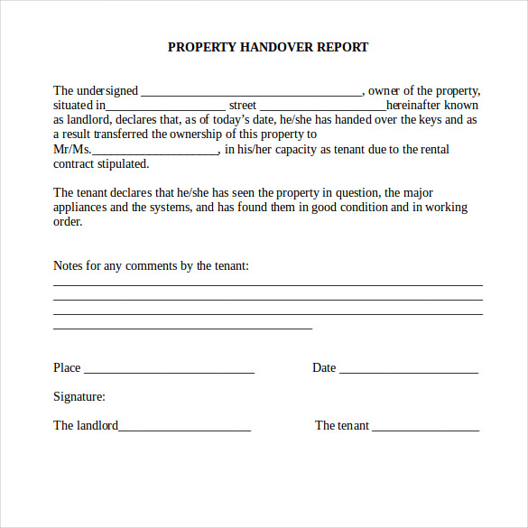 business report template word .