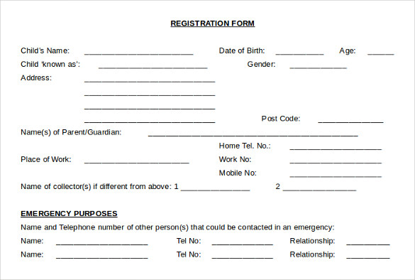 Sample Child Medical Consent Form - 5+ Download Free Documents In