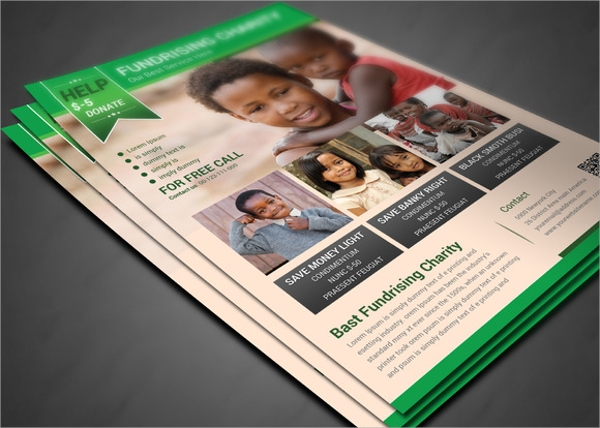 fundraisers flyer template1
