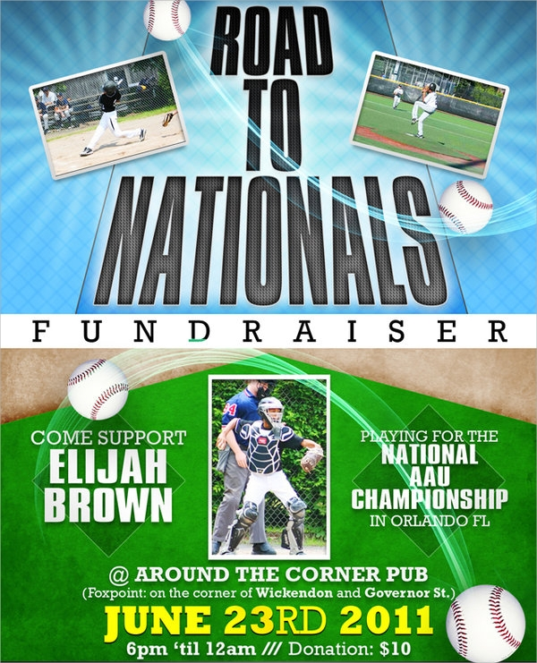 fundraiser flyer template